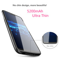 Ultra Thin 5200mAh Battery Charger Case For Huawei Nova 3 3i Honor Play Battery Case Power Bank Charging Cover For Huawei