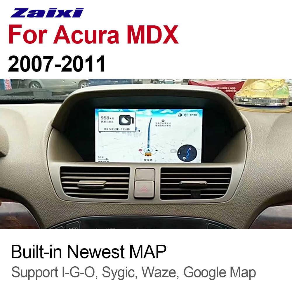 ZaiXi Auto Radio 2 Din Android Car Player For Acura MDX