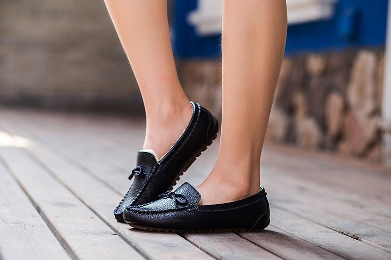 AH 5710  (10) women winter loafers