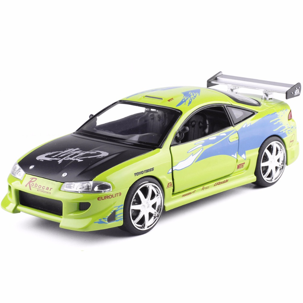 Attractive High Simitation JADA 1:24 Mitsubishi Eclipse Racing Toy Advanced Alloy Car  Model For Kids Gifts Free SShipping  In Diecasts U0026 Toy Vehicles From Toys  ...