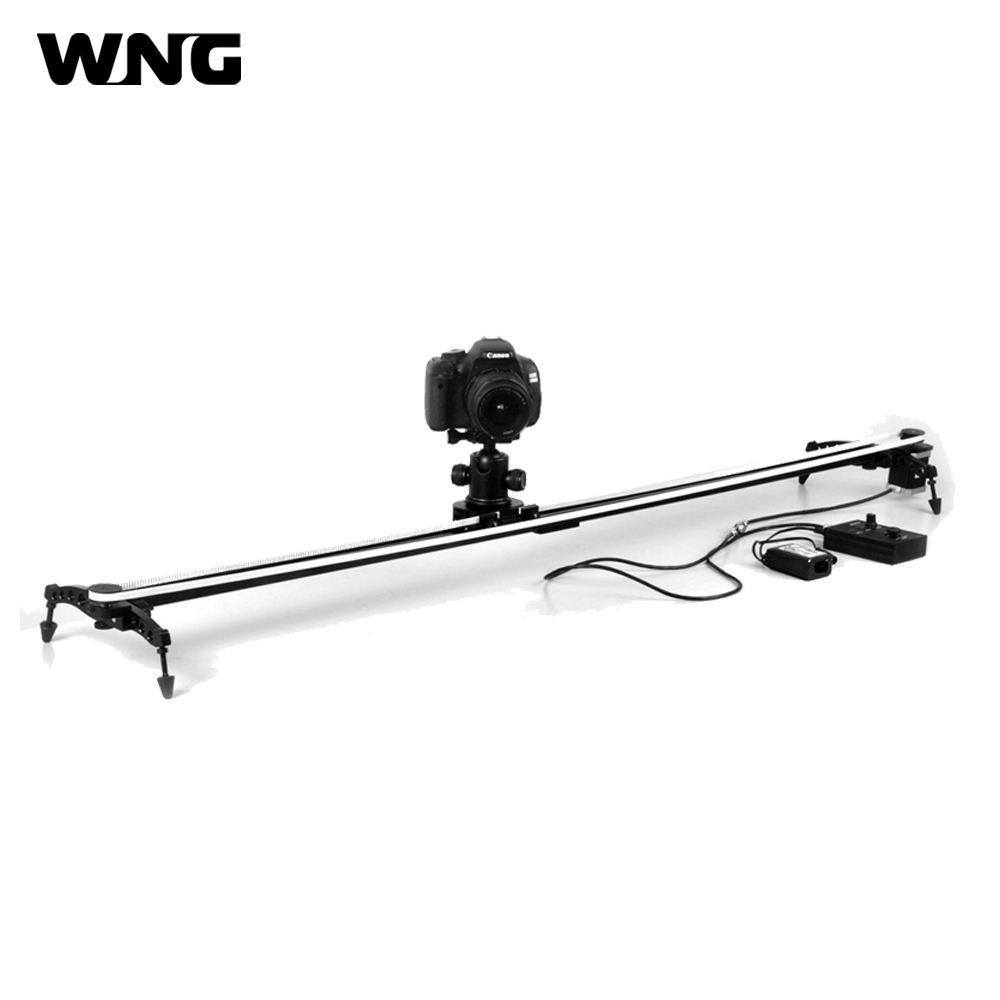 цена на 120cm Electronic Motorized Camera Track Video Slider for Cinema film and Time lapse