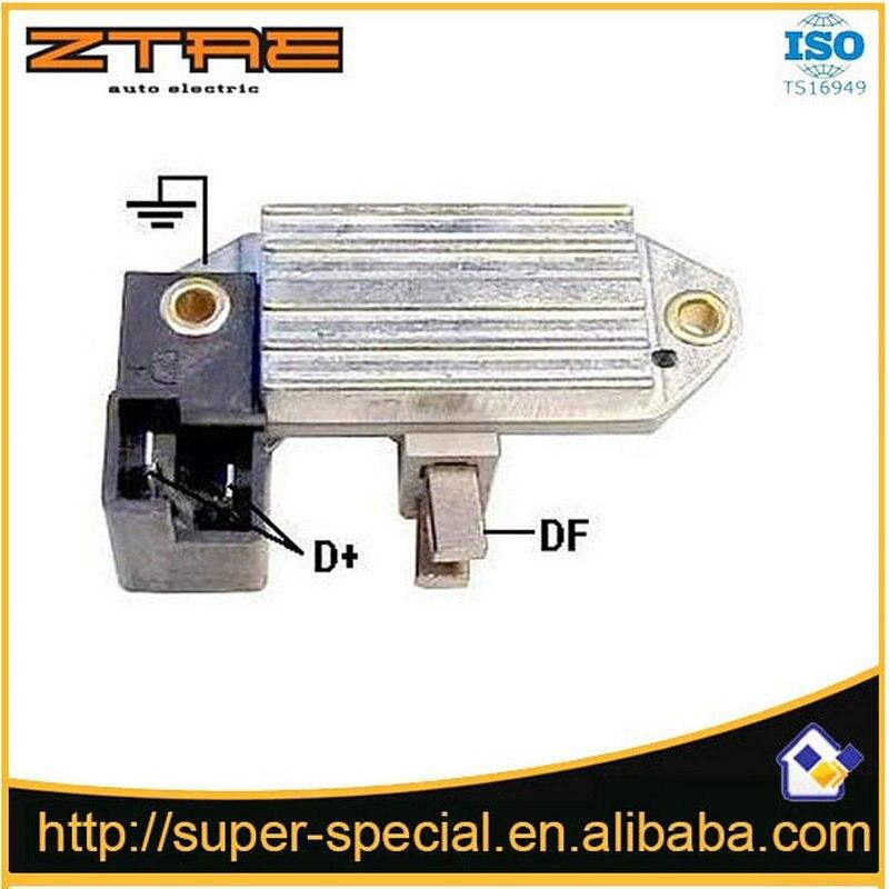 Lichtmaschine Spannung Regler, IX110, VR-F119, 83600151,9939826, 9941193,21222127, UCB808, 58120022,79707161, 79707481, RTT119A, RTT119AAC