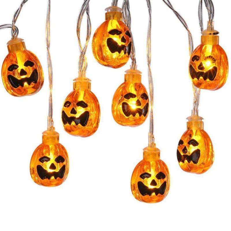 New Pumpkin String Lights With Clear Bulb Backyard