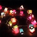 Tailândia Luzes De Fadas LEVOU Luzes Da Corda Lanterna Chinesa do Ano Novo Natal Garland Decoração Do Casamento Luzes Luces Navidad
