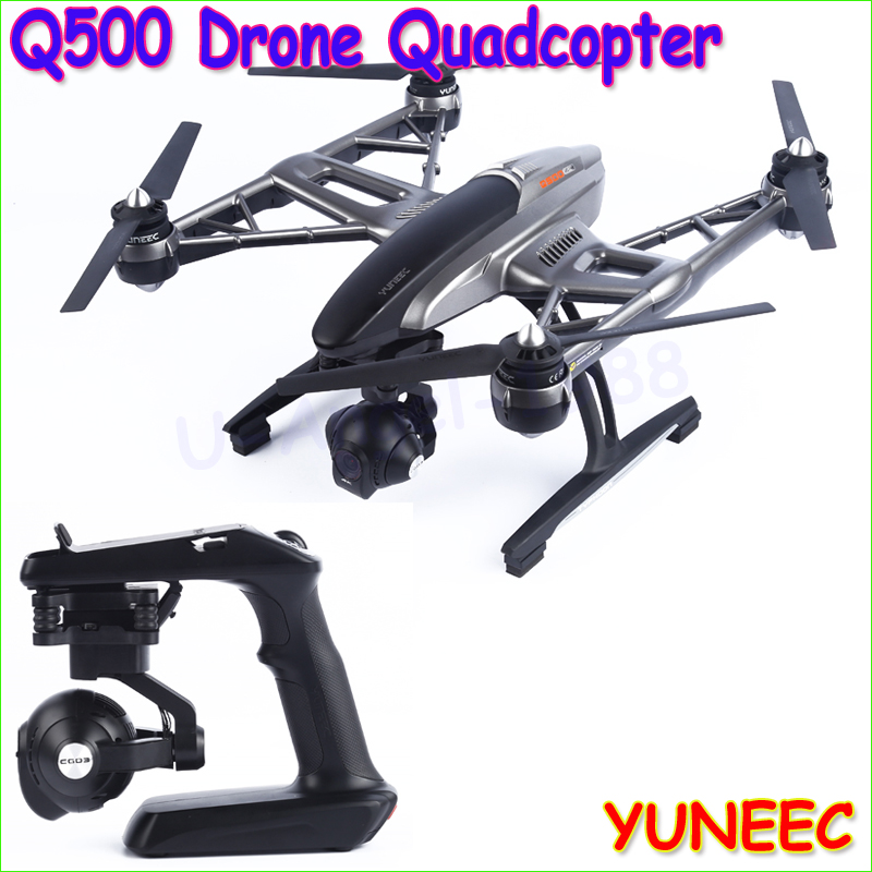 1pcs Professional drones YUNEEC Q500 with 4K HD camera 10ch FPV drone quadcopter helicopter with two batteries yuneec q500 4k camera with st10 10ch 5 8g transmitter fpv quadcopter drone handheld gimbal case