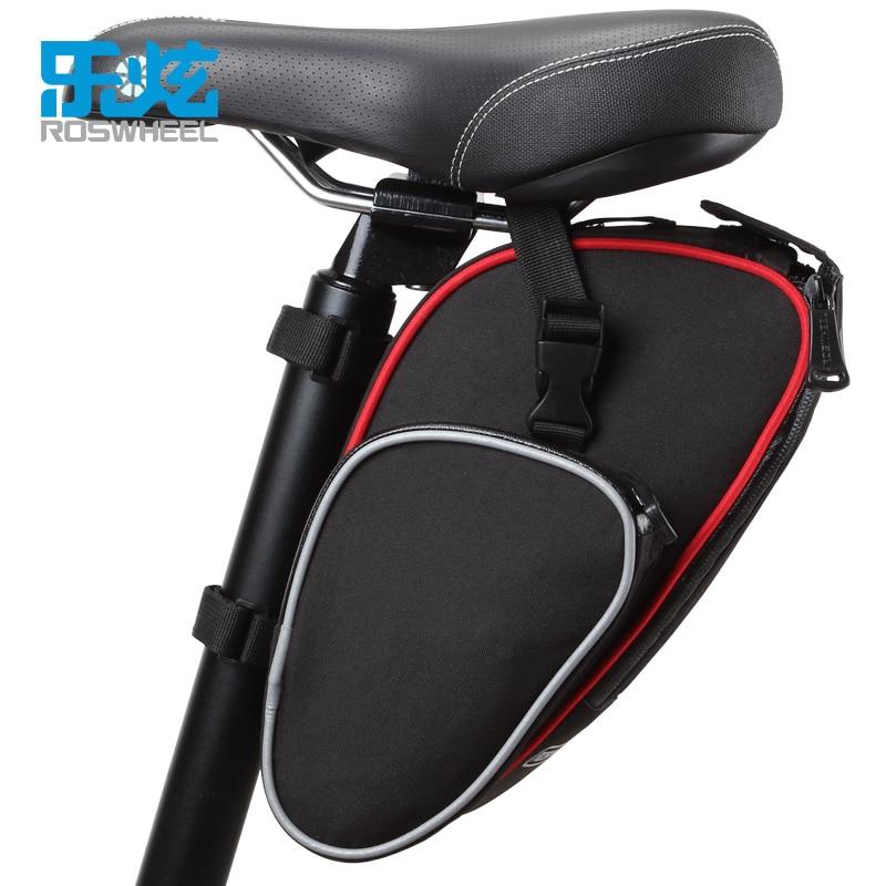 fa46ebceb96 ROSWHEEL bicicleta 13L bolsa de transporte para bicicleta Pannier cesta de  maletero asiento trasero estante bolsa