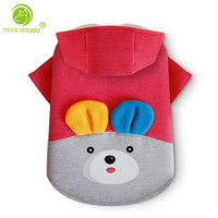 Coat Jacket Dog Clothes Puppy Pet Products Chihuahua Clothing 3D Bear Pattern Back