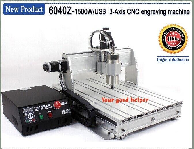 3 axes 6040Z USB Mahc3 1500 W CNC gravure fraiseuse 110 V/220VAC port USB