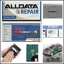 2020 mais novo software de reparação automóvel alldata v10.53 todos os dados e mit/chell 2015 + caminhão pesado elsa ect todos os dados software 47 em 1tb hdd