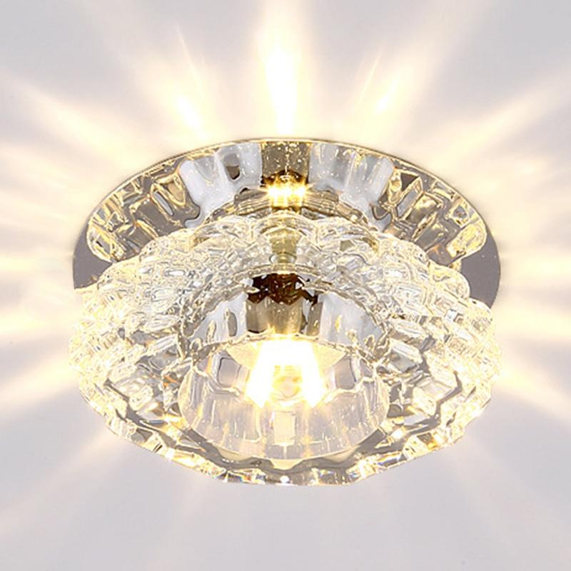 Lights & Lighting Ceiling Lights Lumiparty Flush Mount Small Led Ceiling Light Ceiling Lamp For Art Gallery Decoration Front Balcony Porch Light