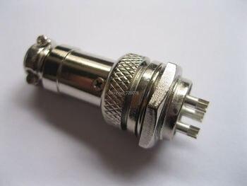 10 adet XLR 3 Pin Ses Kablosu Konektörü 16mm Şasi Dağı