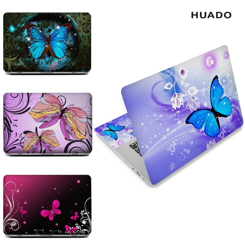 Butterfly Laptop skin notebook computer skins sticker for 10 12 13 15 15.6 inch