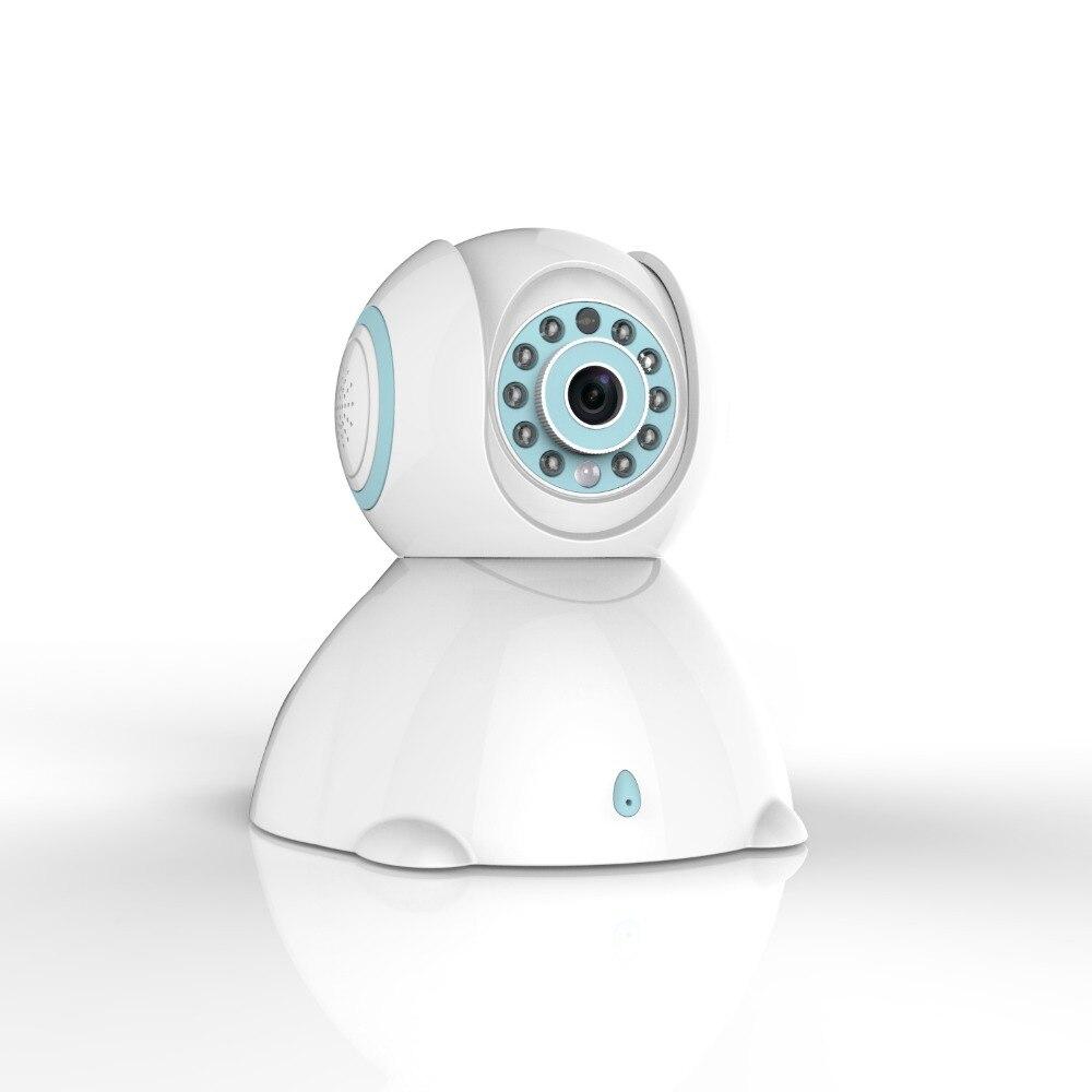C42 2017 haut à la mode rose bleu bébé moniteur téléphone exploité Mini chambre sans fil tous les Types belle caméra support détection de mouvement - 4