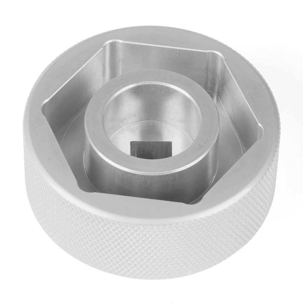 New 60MM Rear Wheel Tool Aluminum Rear Wheel Nut Rear Axle Nut For KTM Superduke 1290