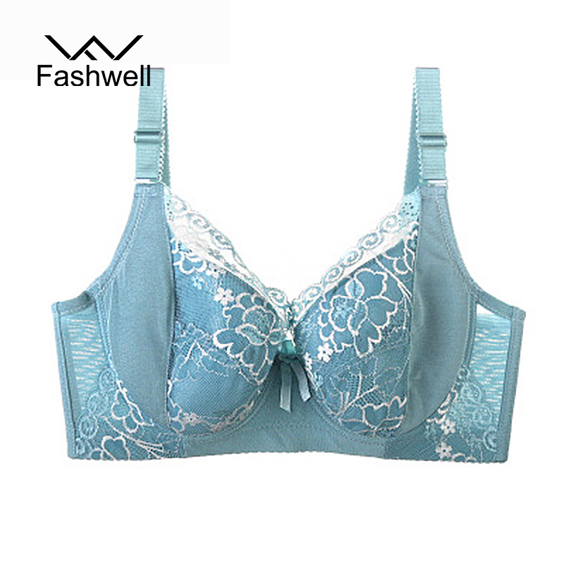 Women Bra Plus Size Bralette push up D Large Cup Brassiere sexy lace thin cup Breathable Bras Ladies Underwear Bras