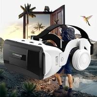 Timethinker Shine con G06E Original VR Virtual Reality 3D Glasses Box Stereo VR Google Cardboard Headset Helmet for IOS Android
