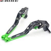 Motorcycle Brake Levers Adjustable Folding Bike Extensible CNC Clutch For Kawasaki Ninja ZX10R 2006 2015 Ninja