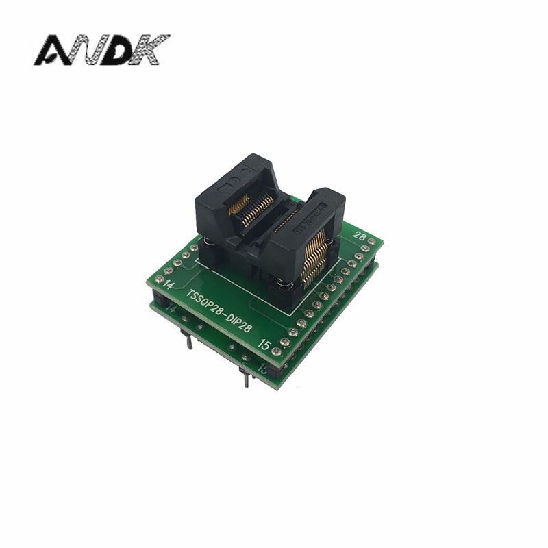 rt809h SOP28 to DIP28 adapter IC SOIC28 to DIP28 SOP16 to DIP16 SOP20 to DIP20 IC test programmer adapter SMT Test Socket free shipping sop32 wide body test seat ots 32 1 27 16 soic32 burn block programming block adapter