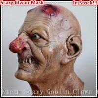Halloween Party Cosplay Thực Tế Latex Cao Su Full Face Mặt Scary tùy chỉnh in phẫu thuật Big Nose Quái Vật Biến Áp Mặt Nạ Latex Mặt