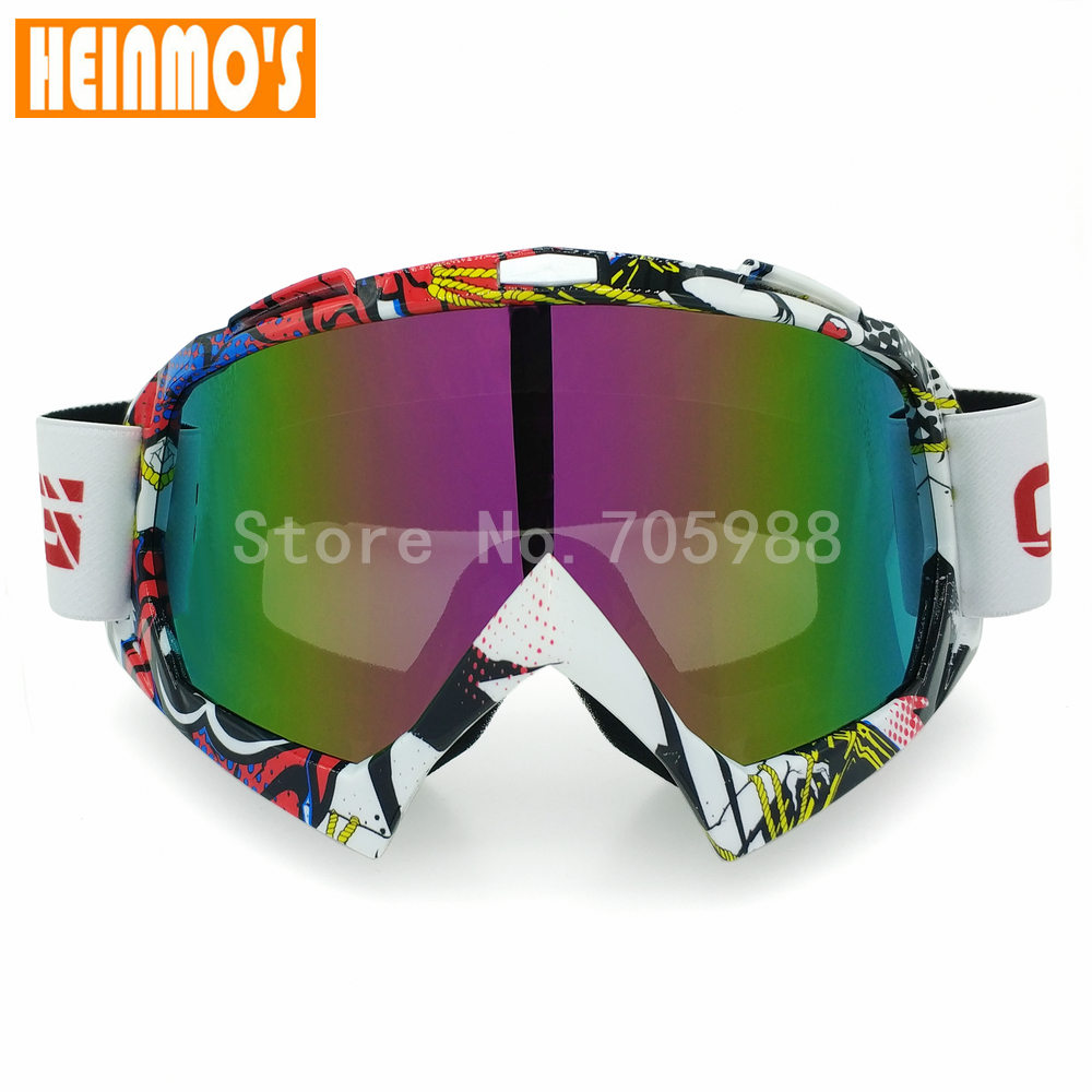 New Multi Vintage Adult Motorcycle Protective Sport Off Road Oculos Motocross Goggles Glasses for Motorbike Dirt Bike Eyewear