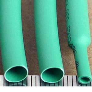 1-20 метров зеленый 2:1 4 мм-80 мм Диаметр Термоусадочная термоусадочная трубка обмотка провода изоляция рукава