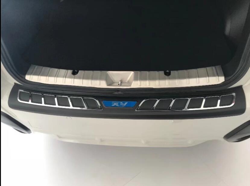 For Subaru XV 2018 2019 Accessori auto Paraurti Posteriore Protector Coda Portellone Tronco Guardia Batticalcagno Scuff