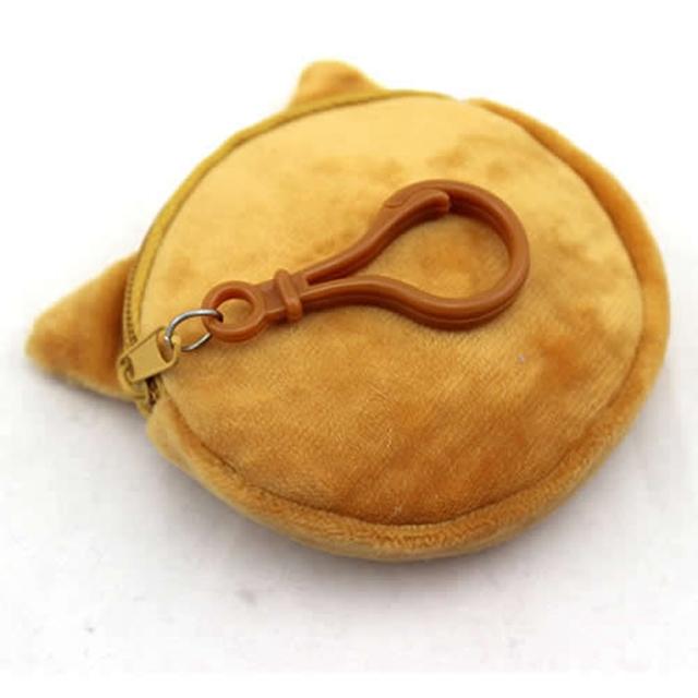 3D Cat Plush Coin Purse
