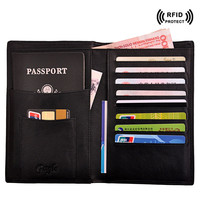 Rfid Blocking Passport Cover id Credit Card Holder Travel Wallet Top Organizer Card Protector 2017 Brand creditcardhouder