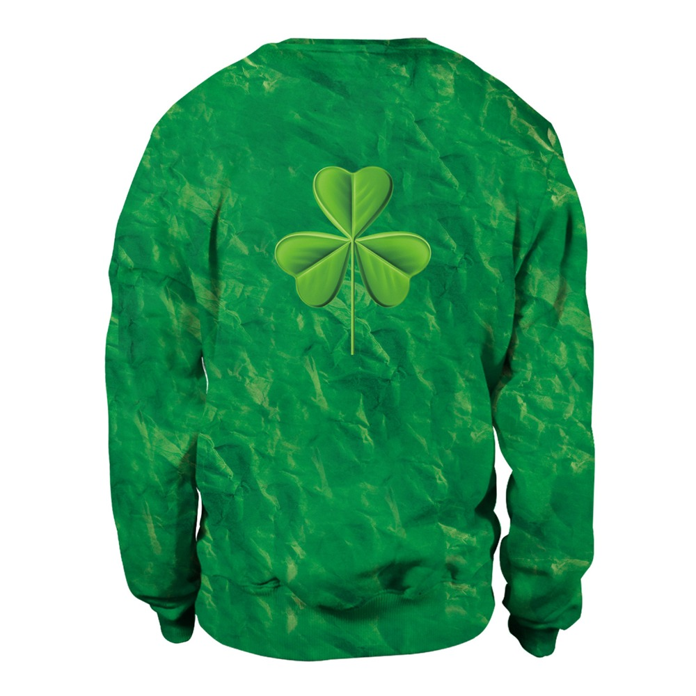 ee117071f 2019 St. Patrick's Day Women Hoodies Clothes Hot New Irish Festival Theme Cute  Cat Pet Print Green Pullovers Sweatshirts-in Hoodies & Sweatshirts from ...