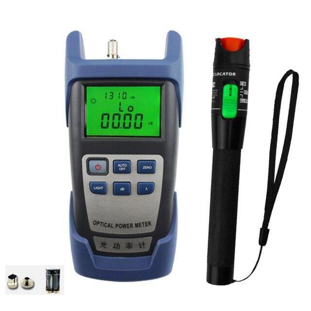 2 In 1 FTTH Fiber Optic Tool Kitพร้อมOptical Power Meterและ30MW Visual Fault Locatorใช้เส้นใยoptic Test Pen