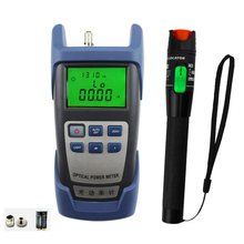 2 In 1 FTTH Fiber Optic Tool Kit with Optical Power Meter and 30MW Visual Fault Locator Use Fiber optic test pen