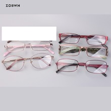 Mix wholesale Classic metal Men Women Eyeglasses simple Frames Anti-fatigue Goggles Spectacles Female Male Oval Glasses
