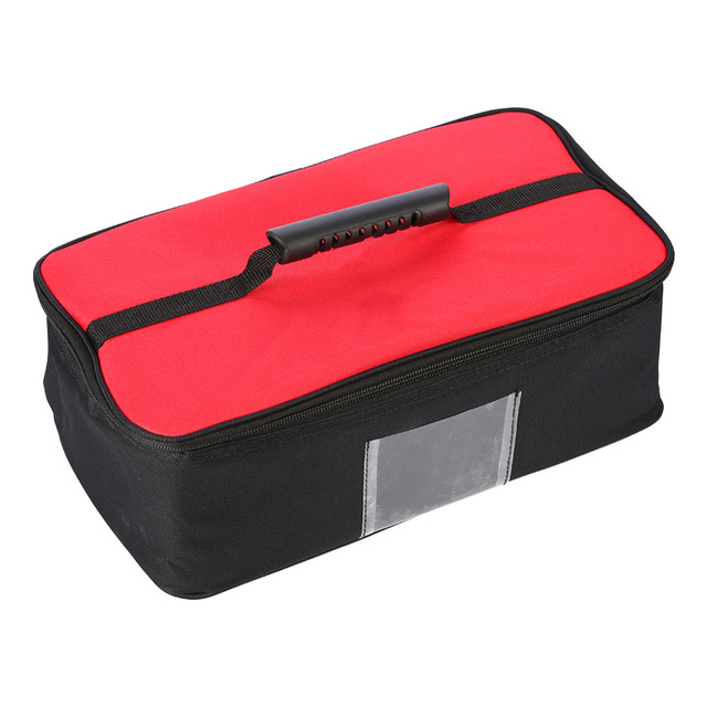36cm x 20cm x 15cm Outdoor Picnic Bag Camping Tableware Cookware Dinnerware Storage Bag Insulation Lunch Cold Box