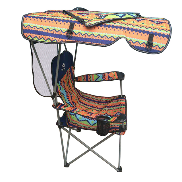 Double Seat Folding Chair Zuo Office Chairs With Removable Umbrella Table Cooler Bag Fishing For Outdoor Patio Garden Picnic Lawn Beach Camping