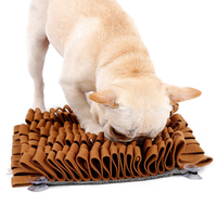 Pet Dog Sniffing Mat Find Food Training Blanket Play Toys Dog Mat For Relieve Stress Sniffing Mat
