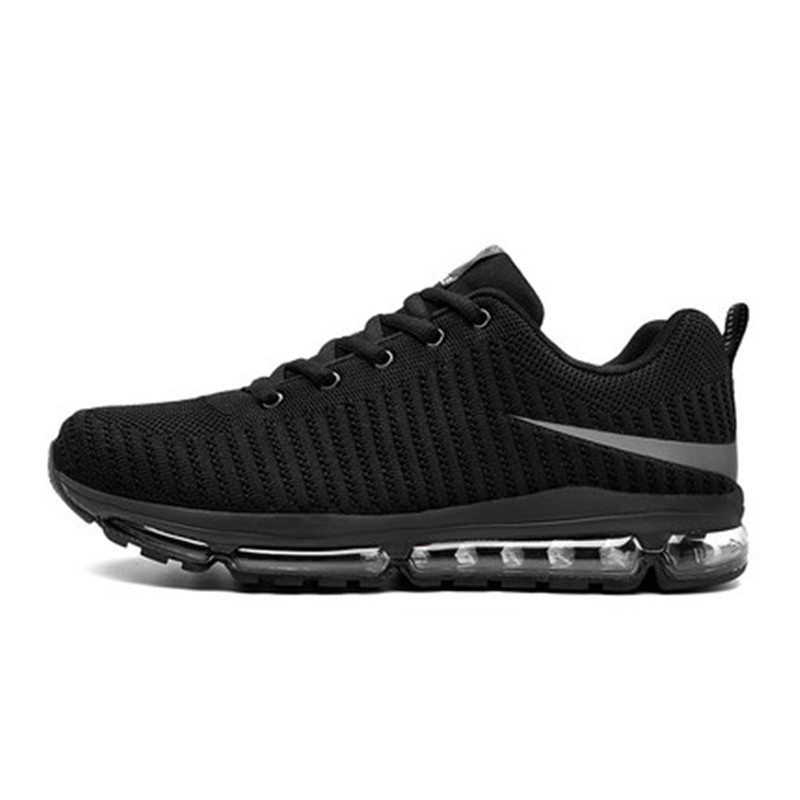 New Running Shoes Air Cushion Men's Ultra Light Running Shoes Wear Running Shoes Cushion Damping Full Palm Non-slip MD