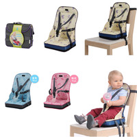 Baby Dining Chair Bag Seat Infant Portable Highchair Seat Bebes Travel Foldable Safety Belt Seat Feeding High Chair Cushion Mat