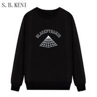 6 Kinds Of Color 2017 Long Section Of The New Winter Wool Pyramid Hoodie Black Pyramid