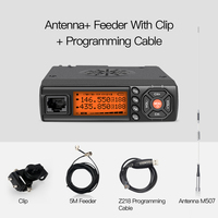 Car Walkie Talkie VHF UHF Mini Mobile Radio HF Transceiver Two Way Ham Radio For Hunting Radio Statio