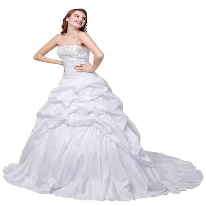 Alilove 2019 שמלות כלה שמלת כלה באורך רצפת תחרה מעודן פשוט מותאם אישית גודל בתוספת גודל אלגנטי כפתור אשליה