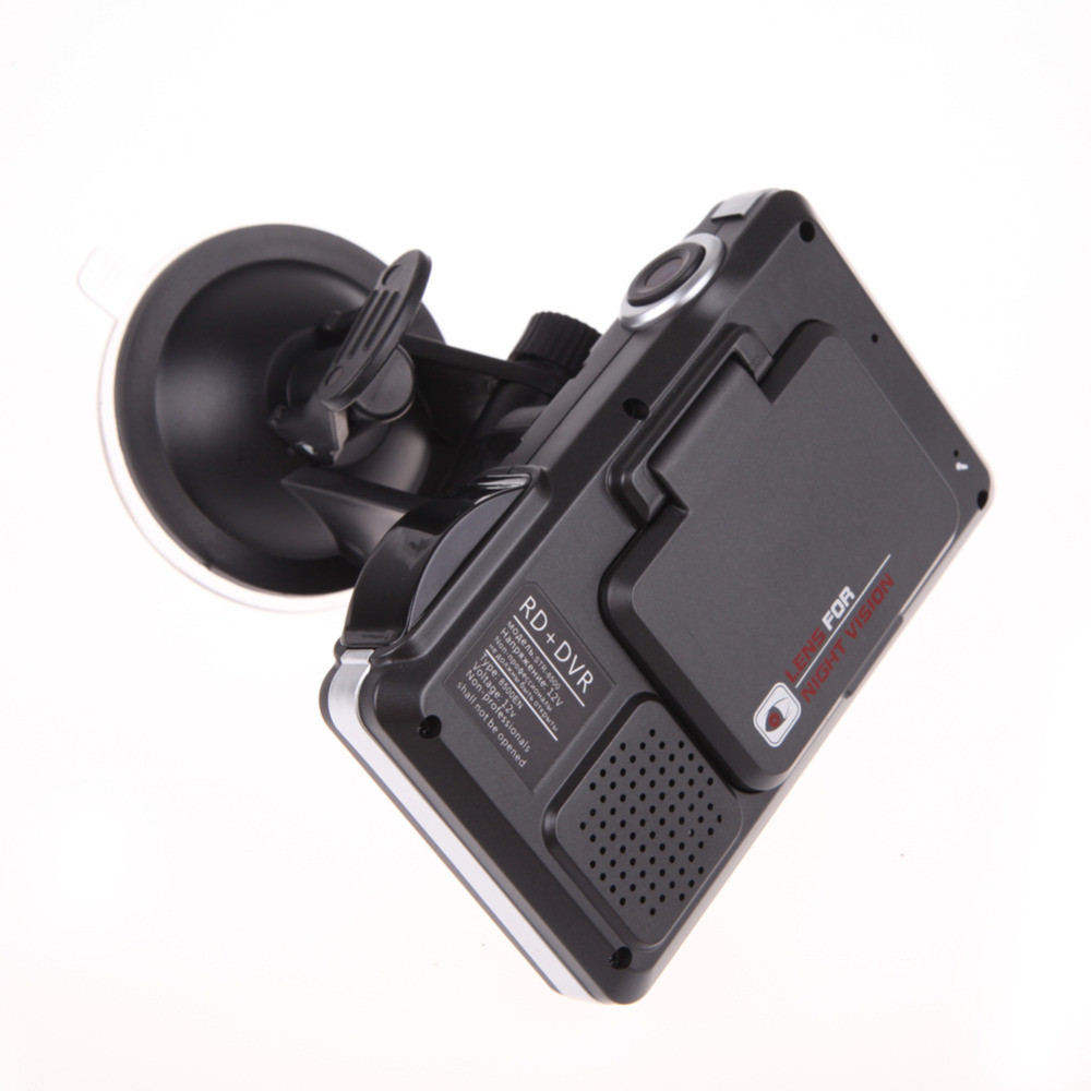 3 IN 1 Auto Radar Detector STR8500 Russische versie Auto dvr recorder HD 720 P 140 Graden Hoek Ingebouwde GPS Logger Videorecorder - 3