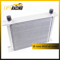 28 ROW AN10 universal aluminum engine tranmission racing oil coolers