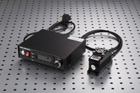473nm 50mW Focusing Green Laser Dot Module Diode Fat Beam TTL/Analog 0 30KHZ with TEC Cooling 85 265V with power supply