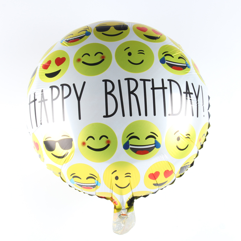 10pcs/lot Wholesale Happy Birthday Balloon Aluminum Foil Balloons Party Decorati