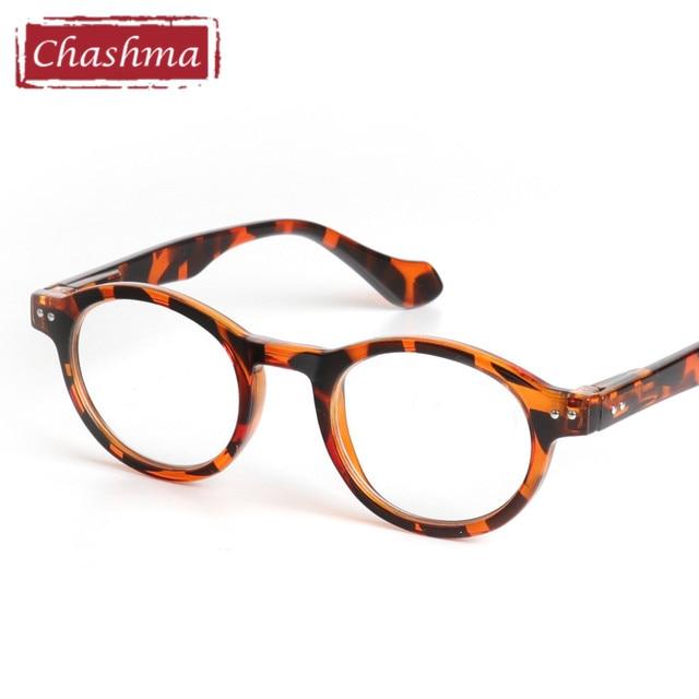24f7023c4c Chashma Retro Style Optical Glasses High Quality Eyewear Vintage Leopard  Glasses Frame Round Reading Glasses