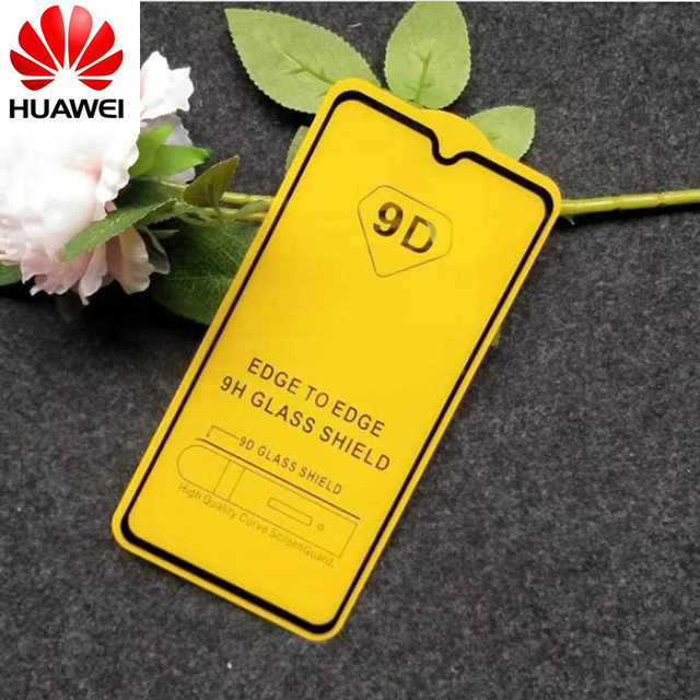 Huawei 9D la cubierta de vidrio templado huawei Mate 20 Pro P20 de cristal Lite P smart film Protector de pantalla huawei Mate 10 Lite de vidrio