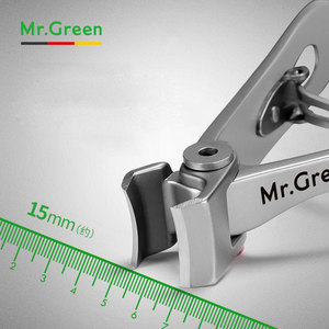 Image 4 - MR.GREEN Nail clippers  Trimmer Stainless Steel Nail tools manicure Thick Nails  cutter  scissors with glass nail file