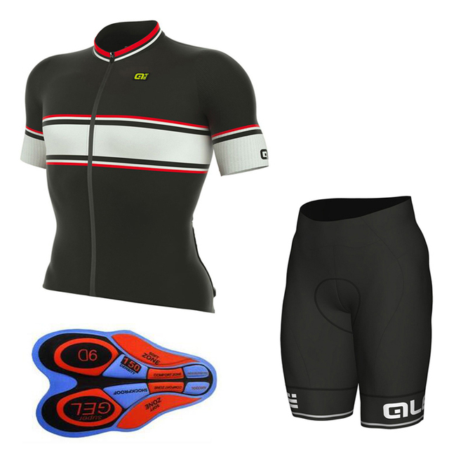 Summer Men Women Summer short sleeve cycling jersey Shorts Kit Ropa  Ciclismo Breathable bicycle clothing Sportswear 5ca778985