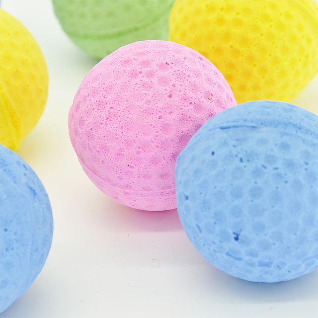Cat EVA Ball Candy color 10pcs per lot  Soft Foam Play Balls For cat
