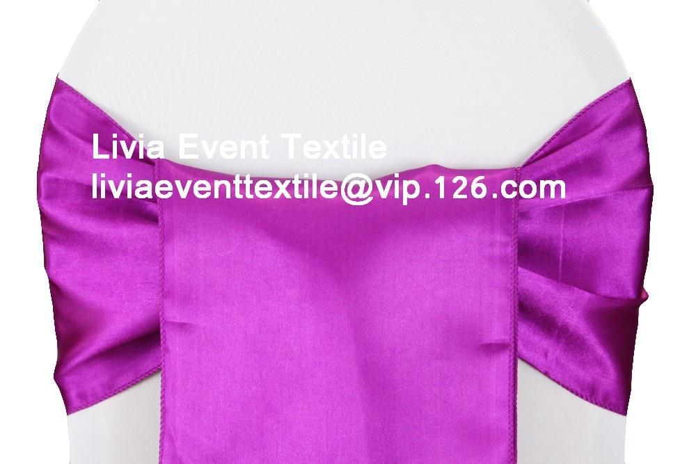 150pcs Satin Chair Sash 20x270cm ,Wedding Chair Sash,Satin Chair Sash&Chair Sash Bow &Tie For Wedding Events &Party Decoration